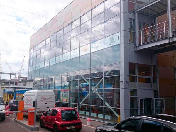 77Volvo в новом здании Юг2
