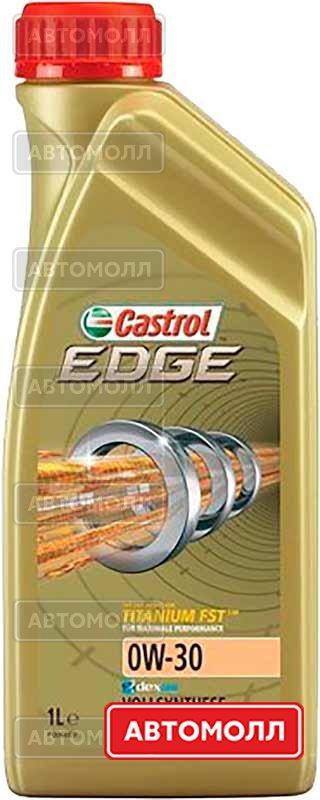 Моторное масло CASTROL EDGE 0W-30 A3/B4 1L изображение #1