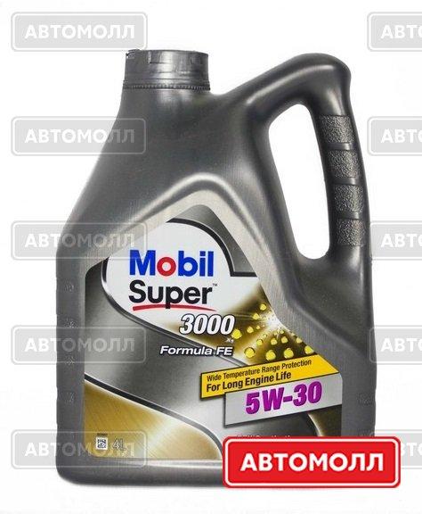 Моторное масло MOBIL Super 3000 X1 Formula FE 5W-30 4L изображение #1