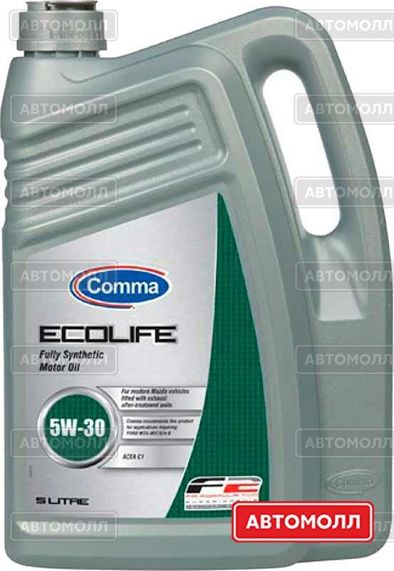 Моторное масло Comma Ecolife 5W-30 5L изображение #1