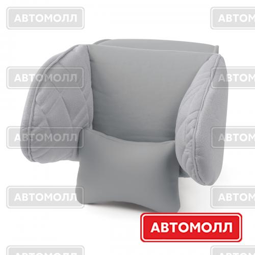 Подушка для шеи / затылка Autoprofi COMFORT COM-0250HR D.GY/D.GY изображение #1