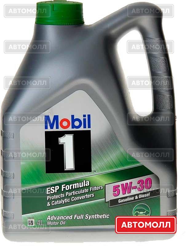 Моторное масло MOBIL 1 ESP Formula 5W-30 4L изображение #1