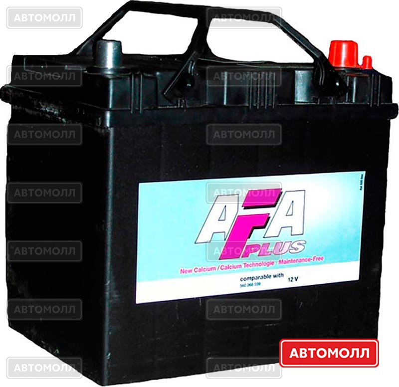 Аккумуляторы AFA 6СТ-60 изображение #1