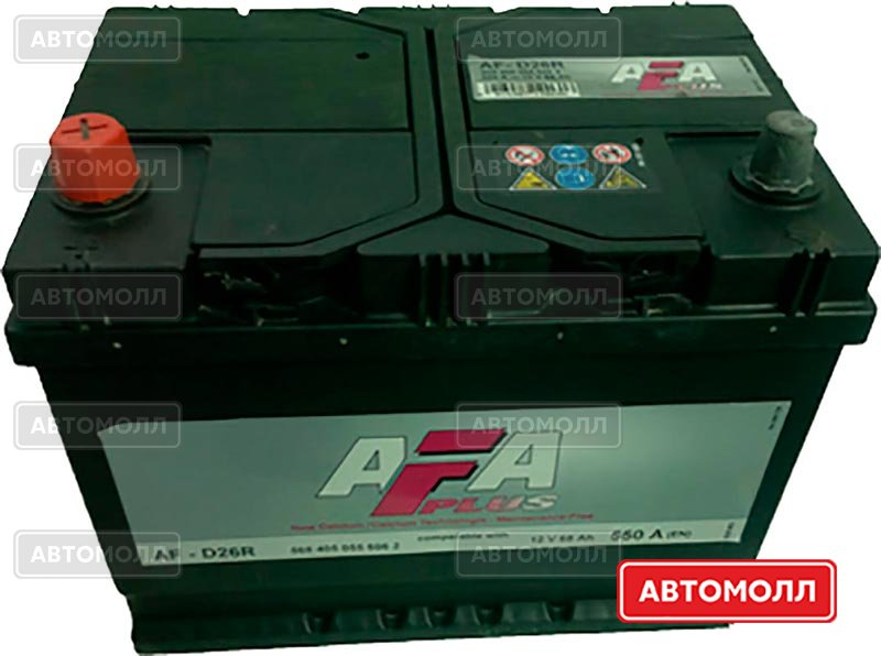 Аккумуляторы AFA 6СТ-68 изображение #1