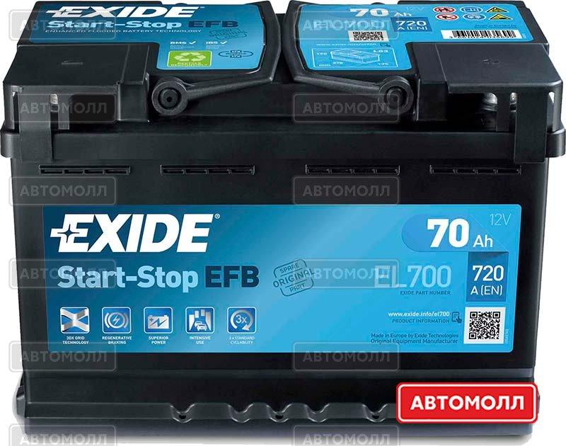 Start-Stop EFB EL600