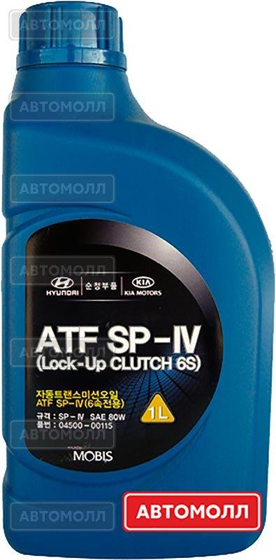 Трансмиссионное масло Hyundai/KIA ATF SP-IV изображение #1