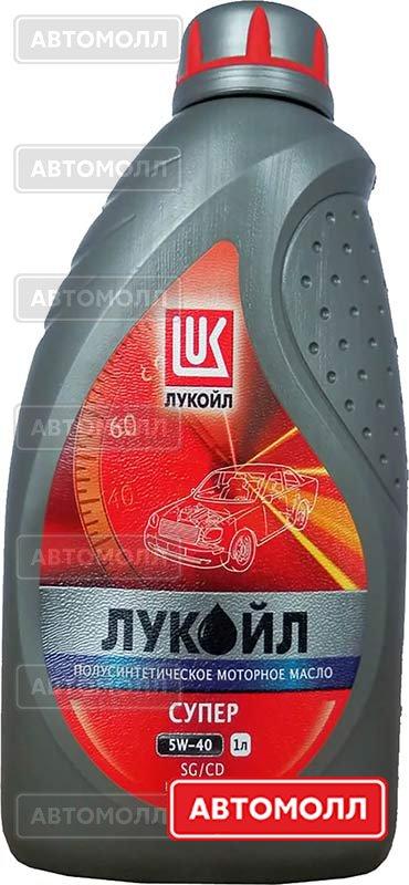 Моторное масло Лукойл Супер изображение #1