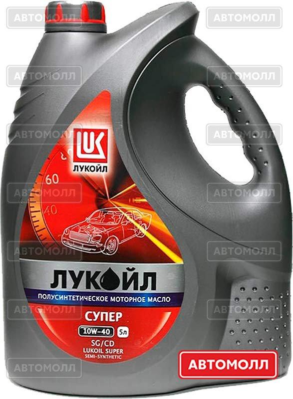 Моторное масло Лукойл Супер изображение #2