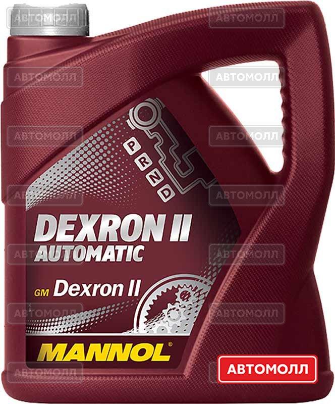 Трансмиссионное масло Mannol ATF DEXRON II D изображение #1
