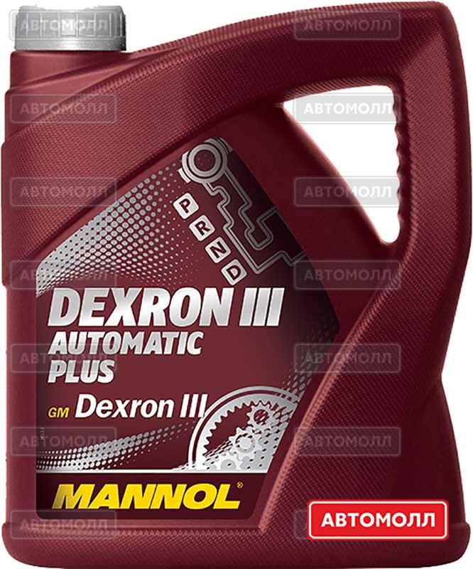 Трансмиссионное масло Mannol DEXRON III AUTOMATIC PLUS изображение #2