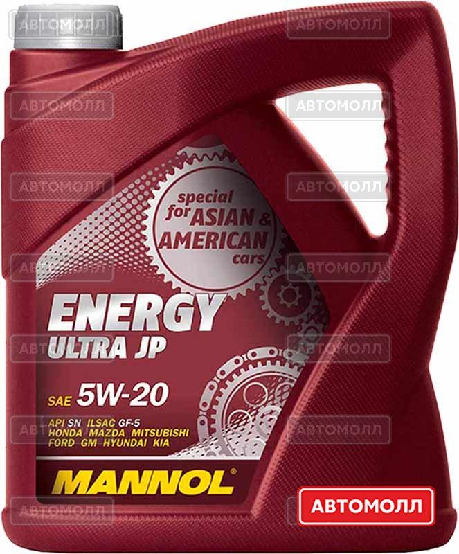 Моторное масло Mannol Energy Ultra JP изображение #1