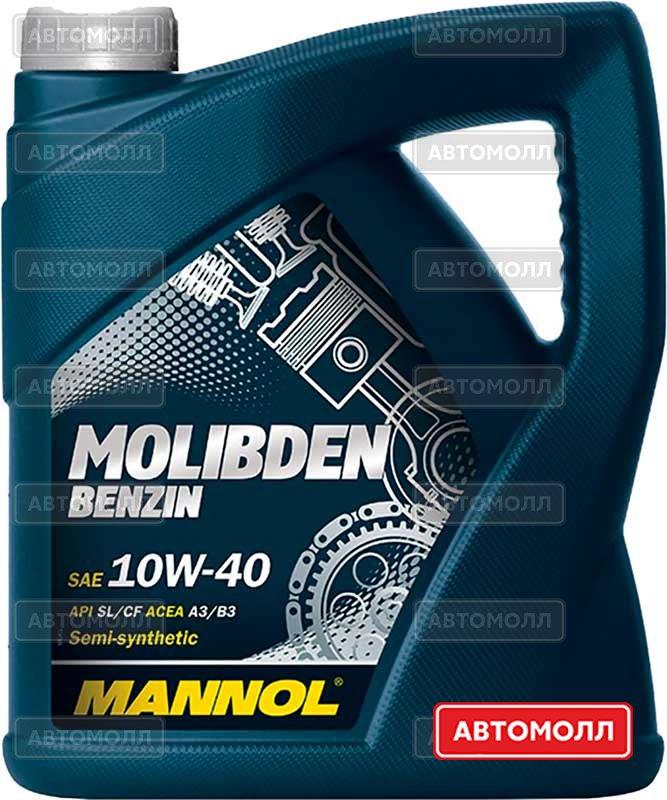 Моторное масло Mannol Molibden Benzin изображение #2