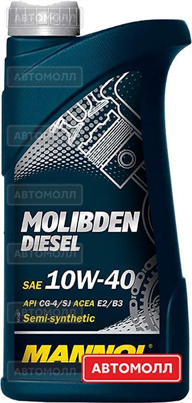 Моторное масло Mannol Molibden Diesel изображение #1