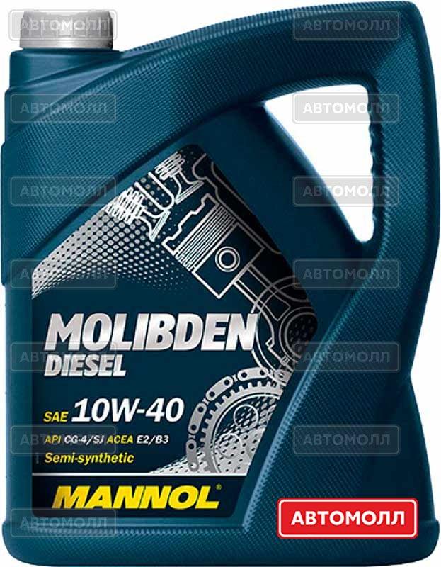 Моторное масло Mannol Molibden Diesel изображение #2