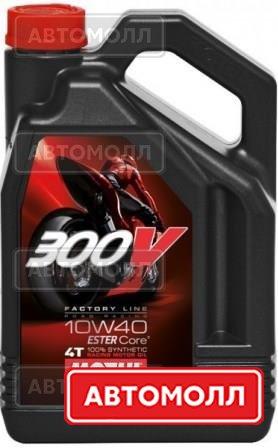 Моторное масло MOTUL 300v изображение #1