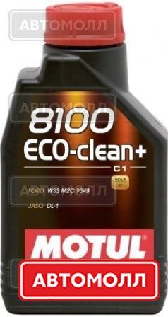 Моторное масло MOTUL 8100 Eco-clean+ изображение #1