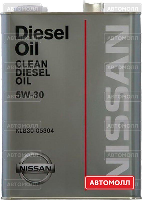 Моторное масло Nissan Motor Oil 5W-30 изображение #2