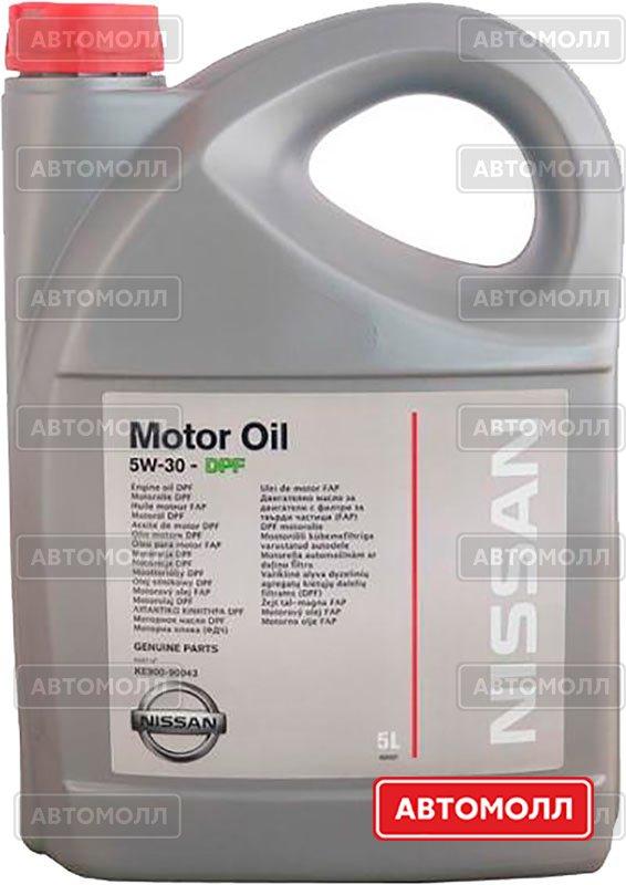 Моторное масло Nissan Motor Oil 5W-30 изображение #3