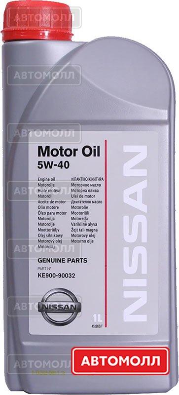 Моторное масло Nissan Motor Oil 5W-40 изображение #1