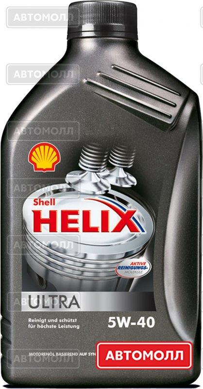 Моторное масло Shell Helix Ultra изображение #2