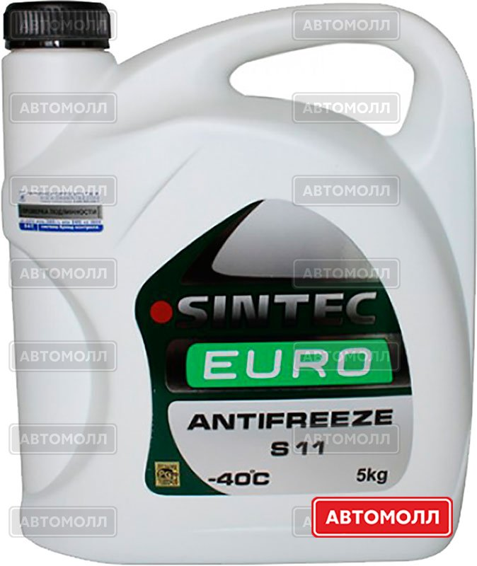 Антифриз Sintec Antifreeze Euro изображение #2