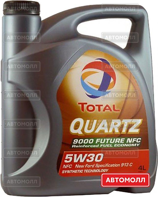 Моторное масло TOTAL Quartz Future 9000 изображение #1