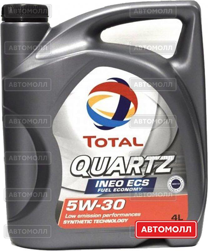 Моторное масло TOTAL Quartz Ineo ecs изображение #3