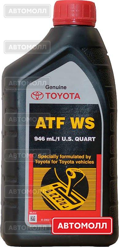 Трансмиссионное масло Toyota ATF WS изображение #1