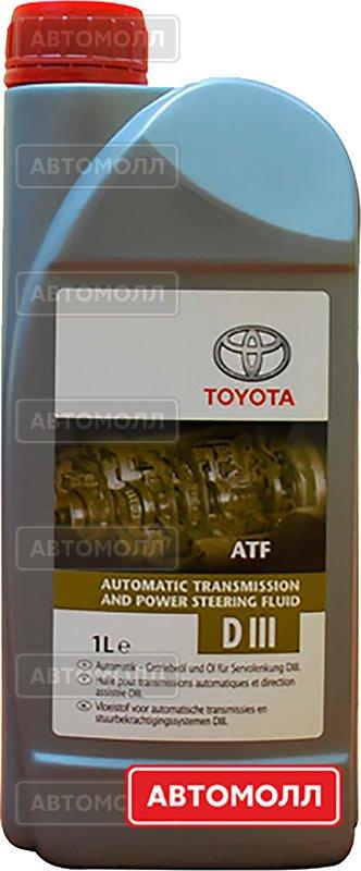 Трансмиссионное масло Toyota Dexron III изображение #1