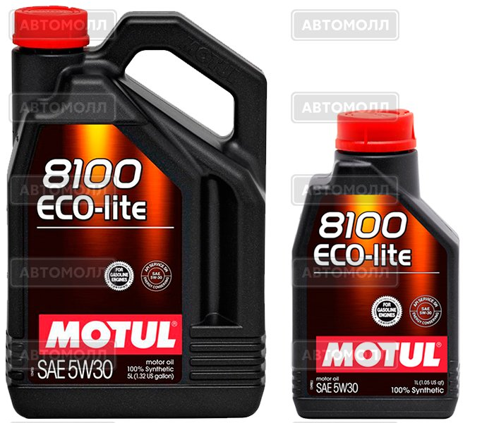 5л масла MOTUL 8100 Eco-lite 5w30